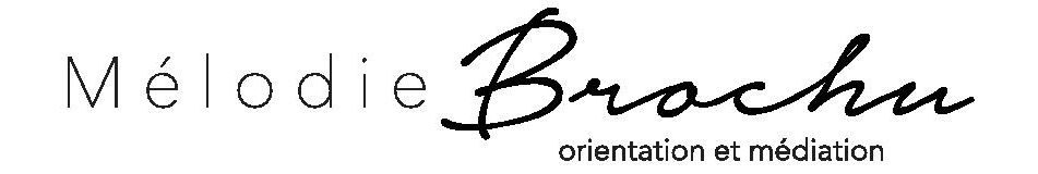 Mélodie Brochu, orientation et médiation